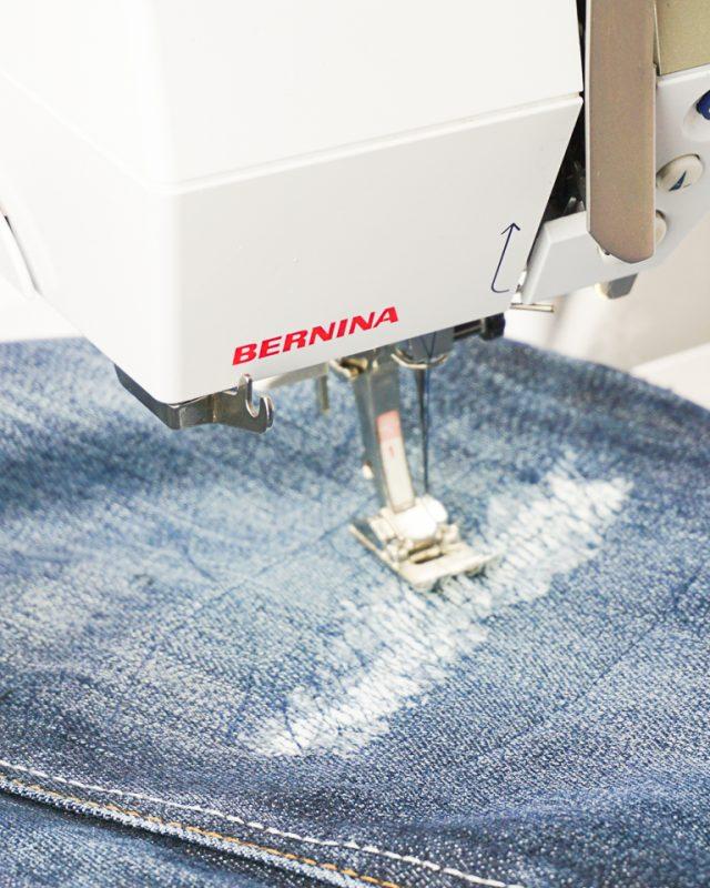 mending sewing machine