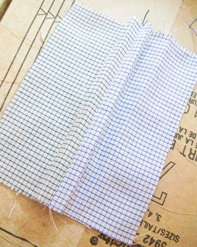 fold seam allowance under and press
