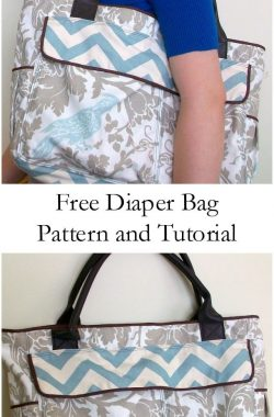 Free Diaper Bag Pattern and Tutorial - Heather Handmade A Sewing Blog