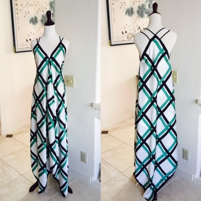Scarves to Maxi Dress DIY Tutorial