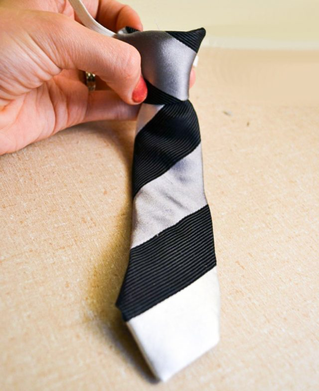 the tie is done