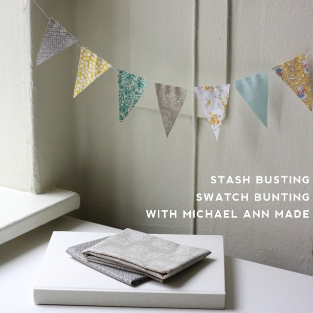 Swatch Bunting Tutorial