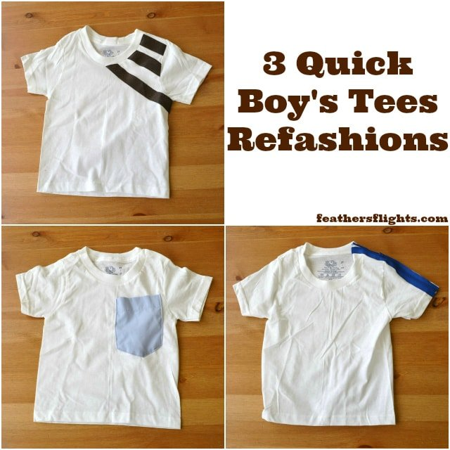 3 Ways to Upcycle T-Shirts for Boys