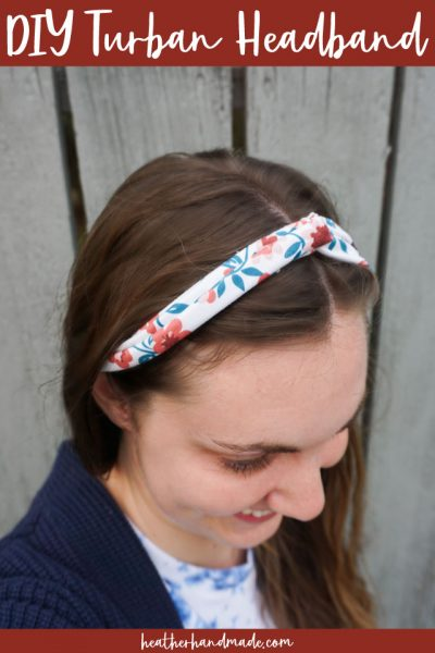 diy turban headband