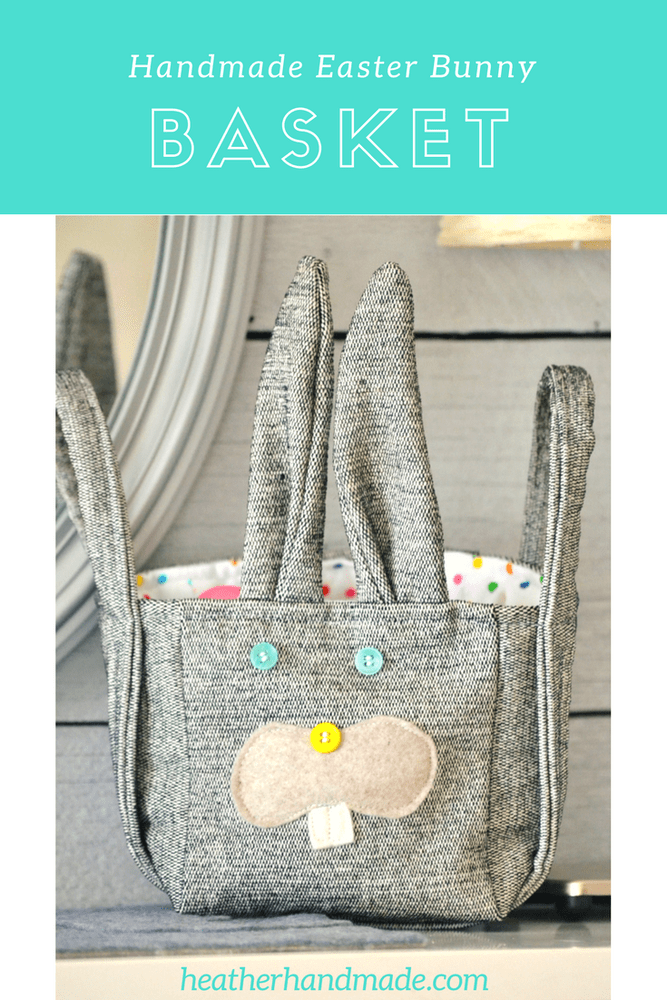 DIY Easter Bunny Baskets