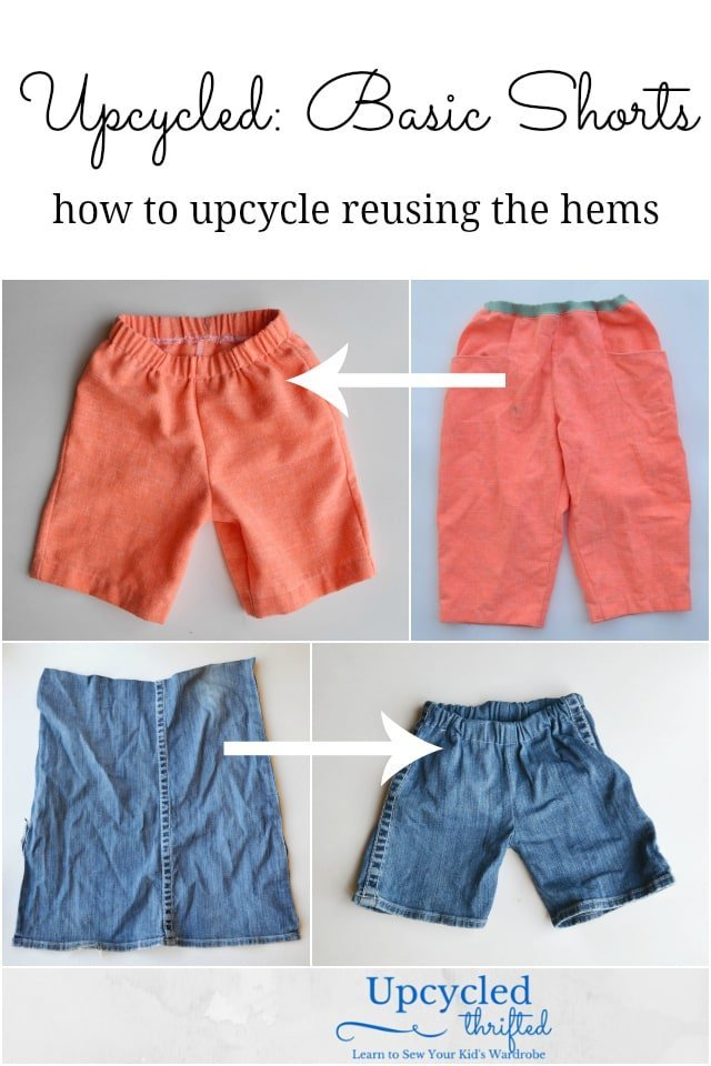 How to Upcycle Shorts and Pants