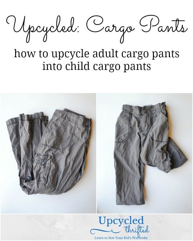 How to Upcycle Cargo Pants