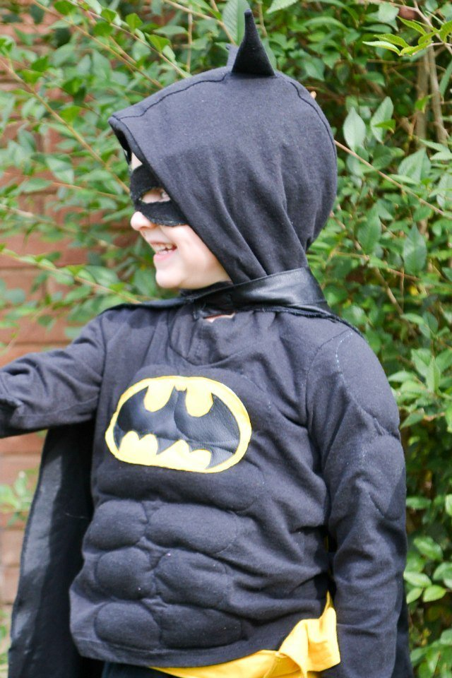 boy batman costume