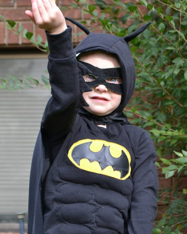 diy boy batman costume