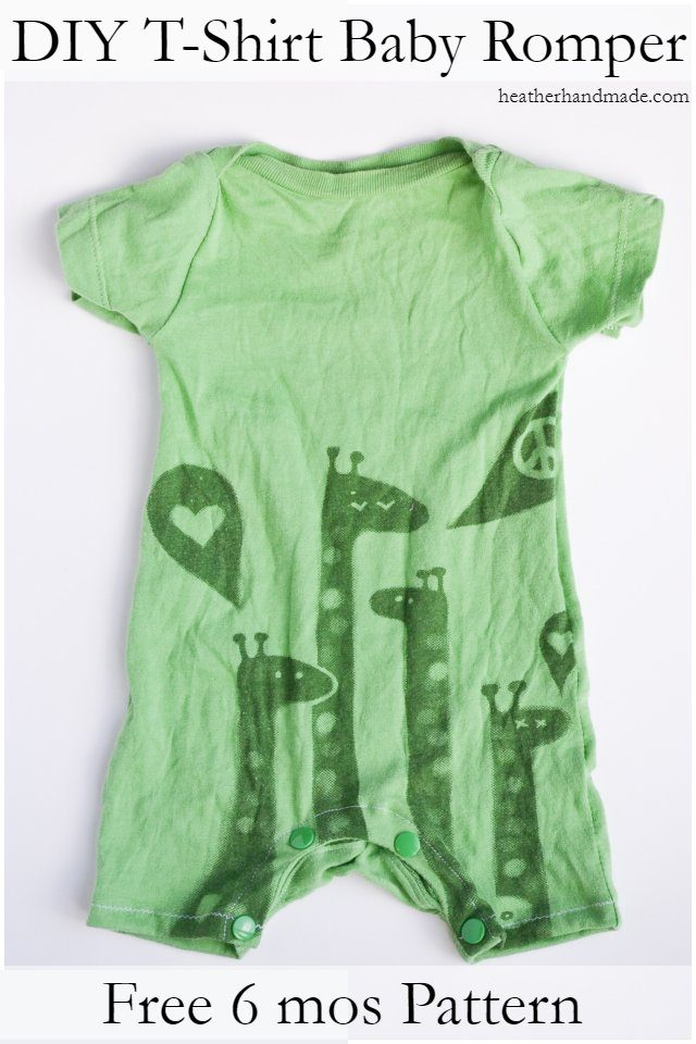 baby t-shirt romper
