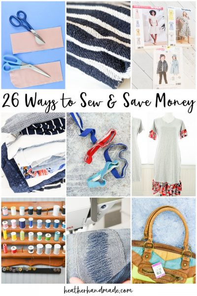sew and save money