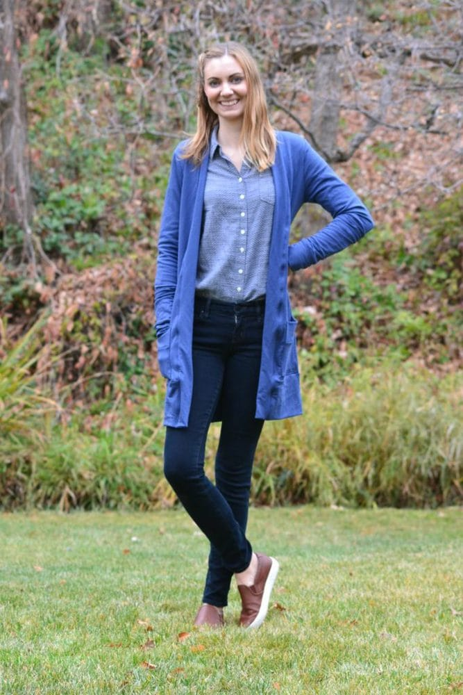 Three Blackwood Cardigans - Heather Handmade