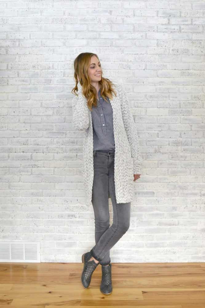 White Sweater Blackwood Cardigan // heatherhandmade.com