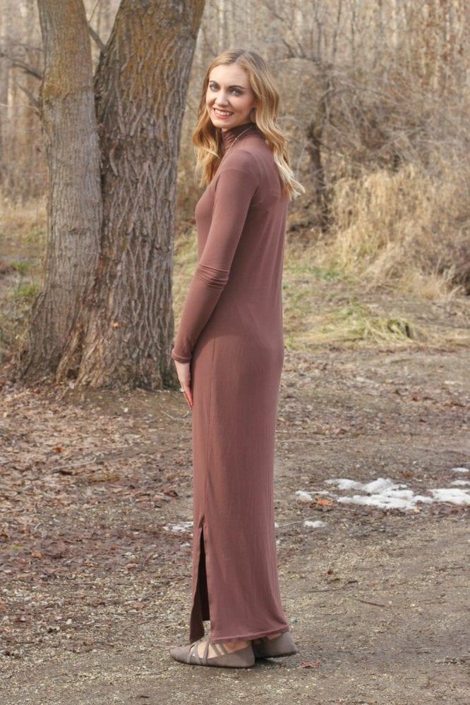 Bamboo Nikko Dress // heatherhandmade.com