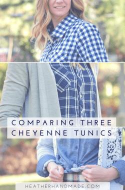 Comparing Three Cheyenne Tunics // heatherhandmade.com