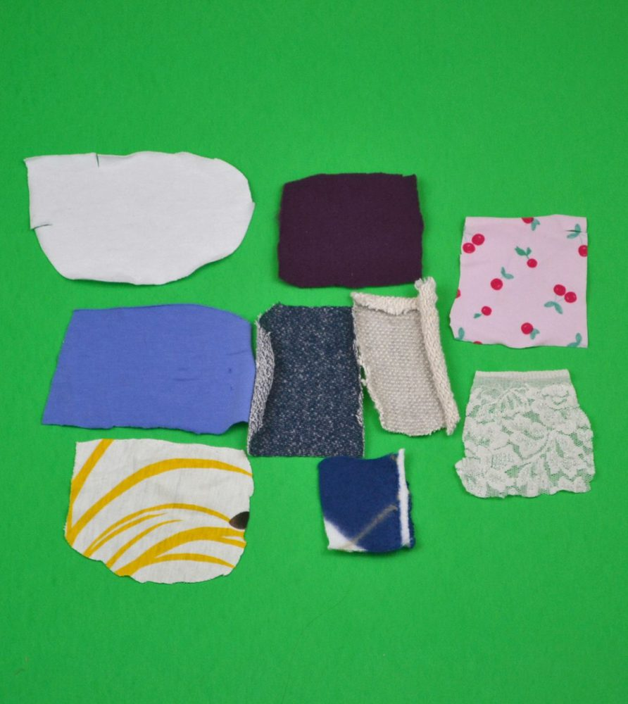 different kinds of knit fabric