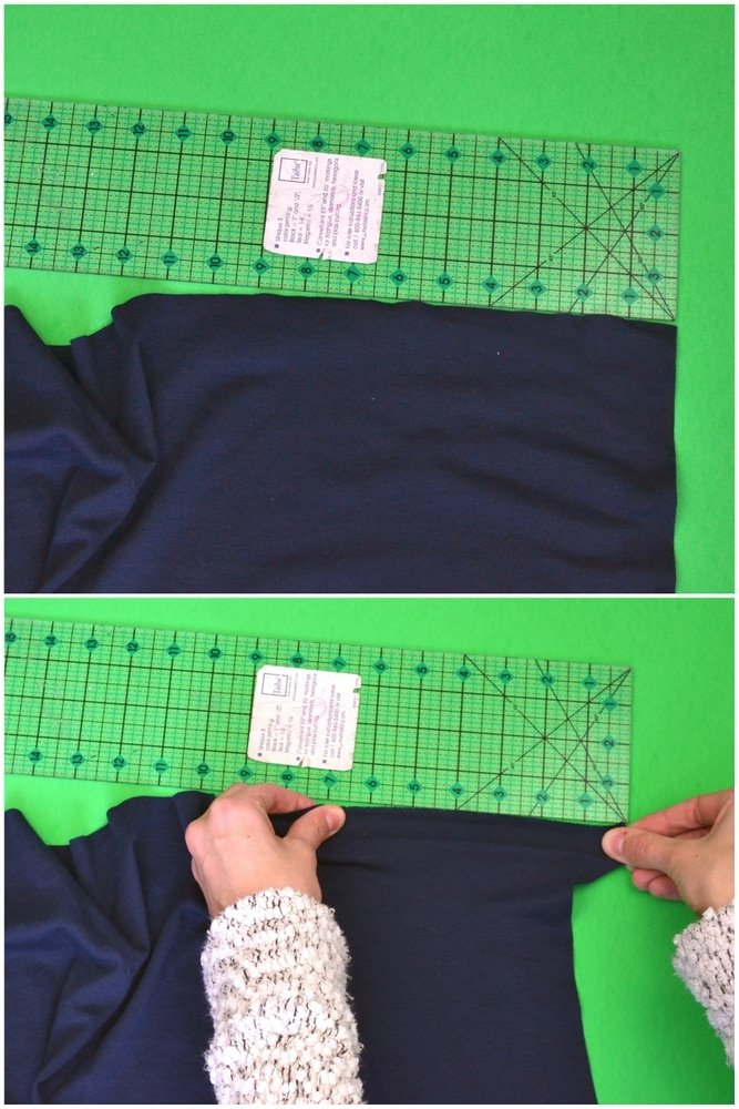 learn the stretch of your fabric