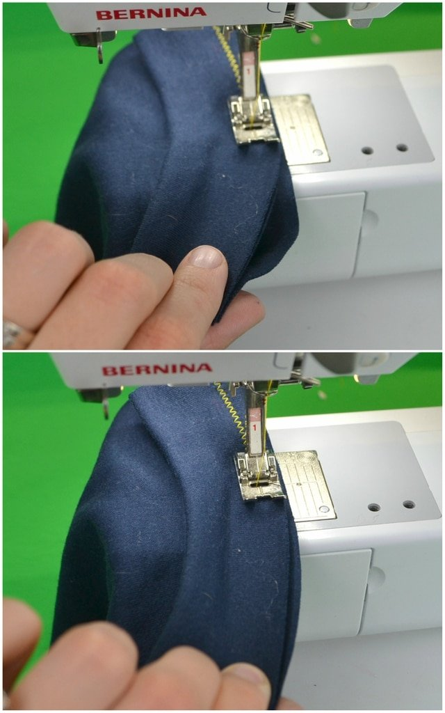 only stretch when sewing band