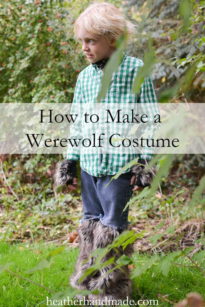 Easy DIY Werewolf Costume