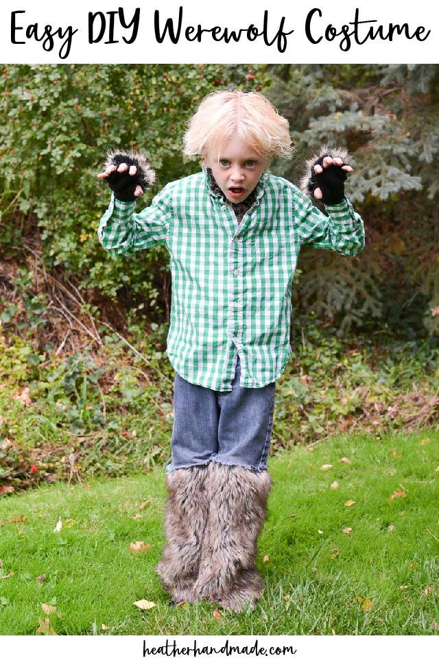 easy diy werewolf costume