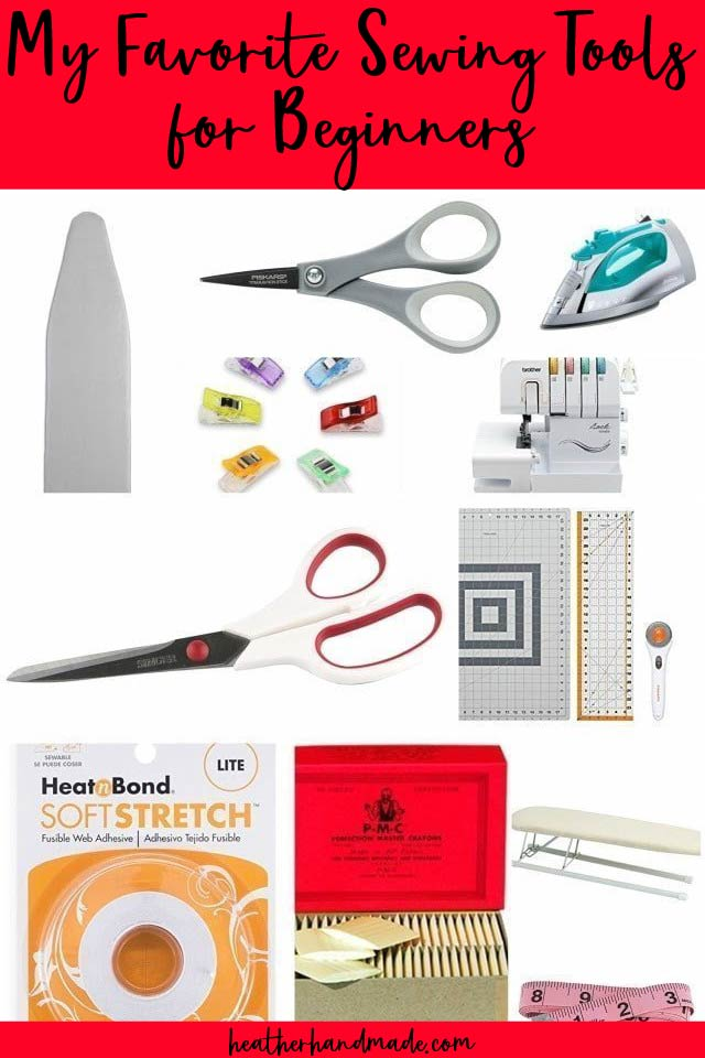 sewing tools for beginners