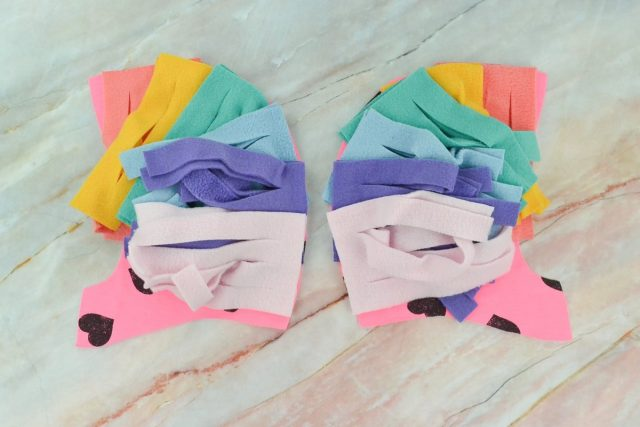 How to Make a Rainbow Unicorn Costume // heatherhandmade.com