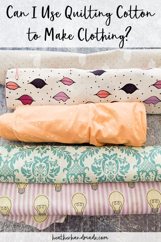use quilting cotton