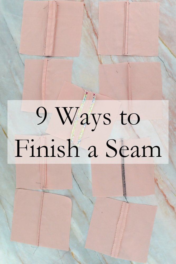 How to Finish a Seam: 9 Seam Finishes