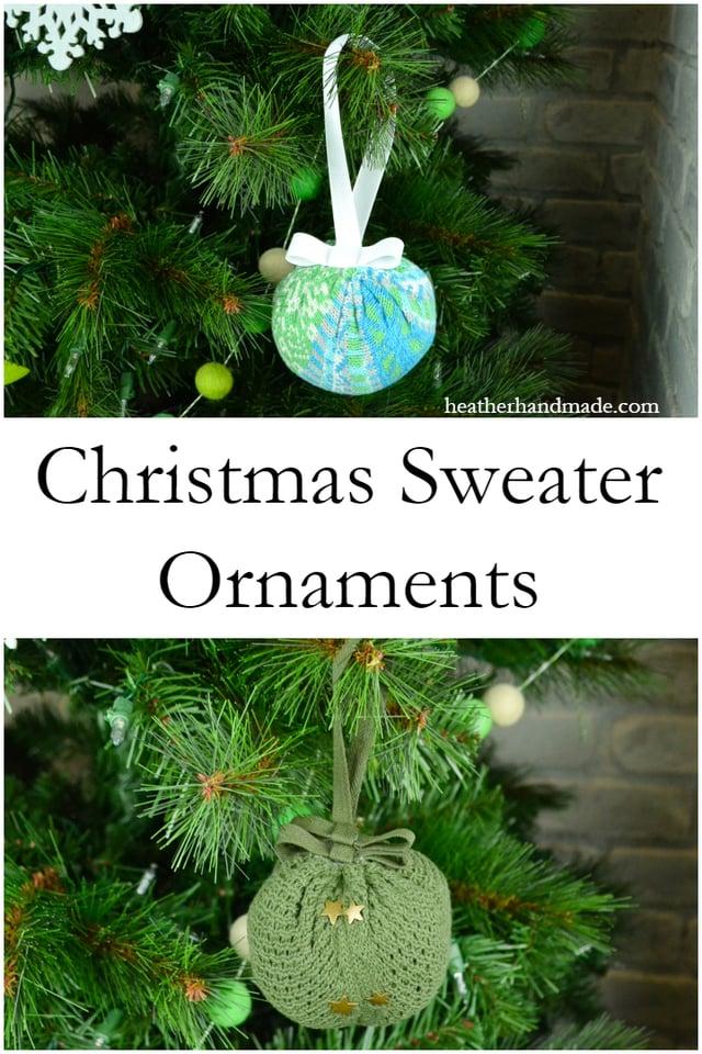 Christmas Sweater Ornament