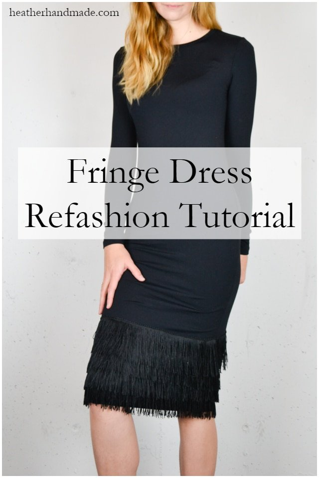 How to Sew Fringe on a Dress