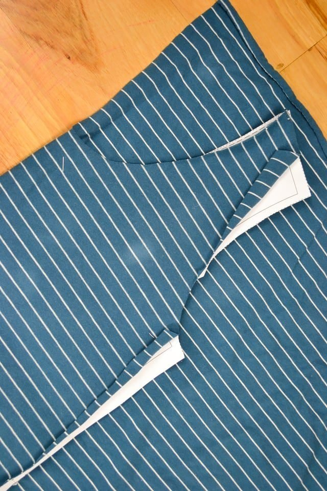 How to Match Stripes // heatherhandmade.com