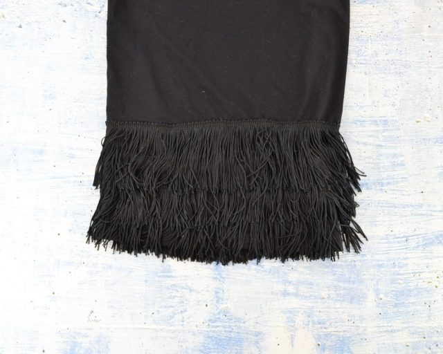 Fringe Dress Refashion Tutorial // heatherhandmade.com