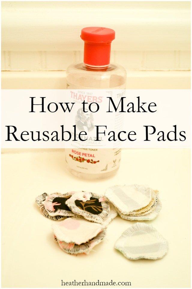Make Reusable Cotton Rounds
