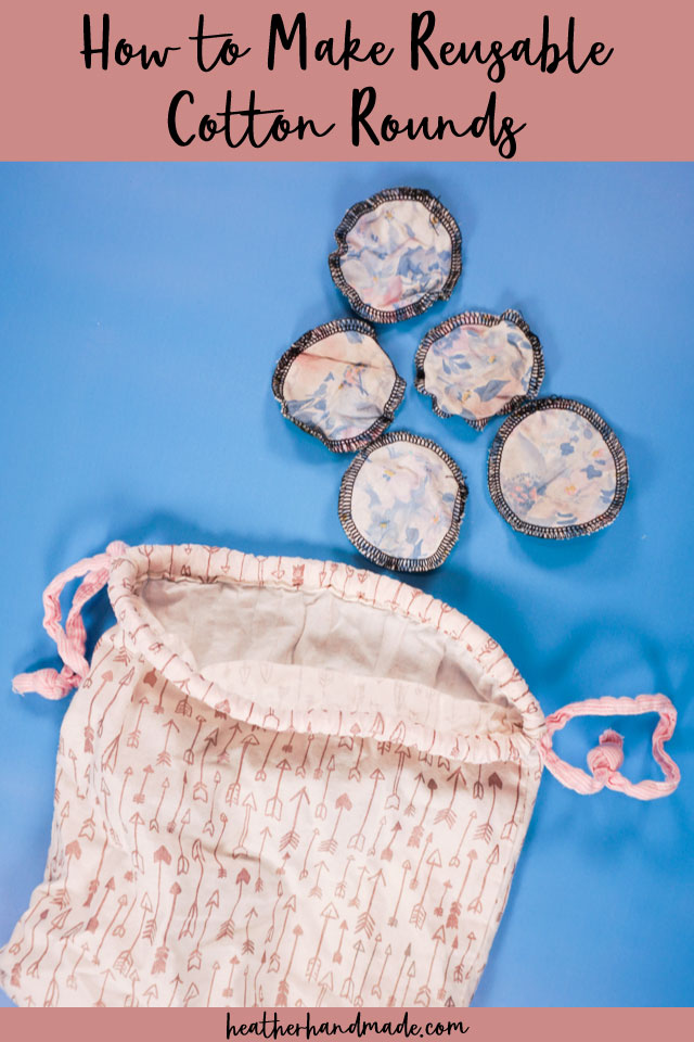 How to Make Reusable Cotton Rounds