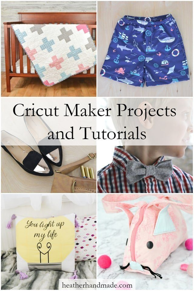 Cricut Maker Projects and Tutorials // heatherhandmade.com
