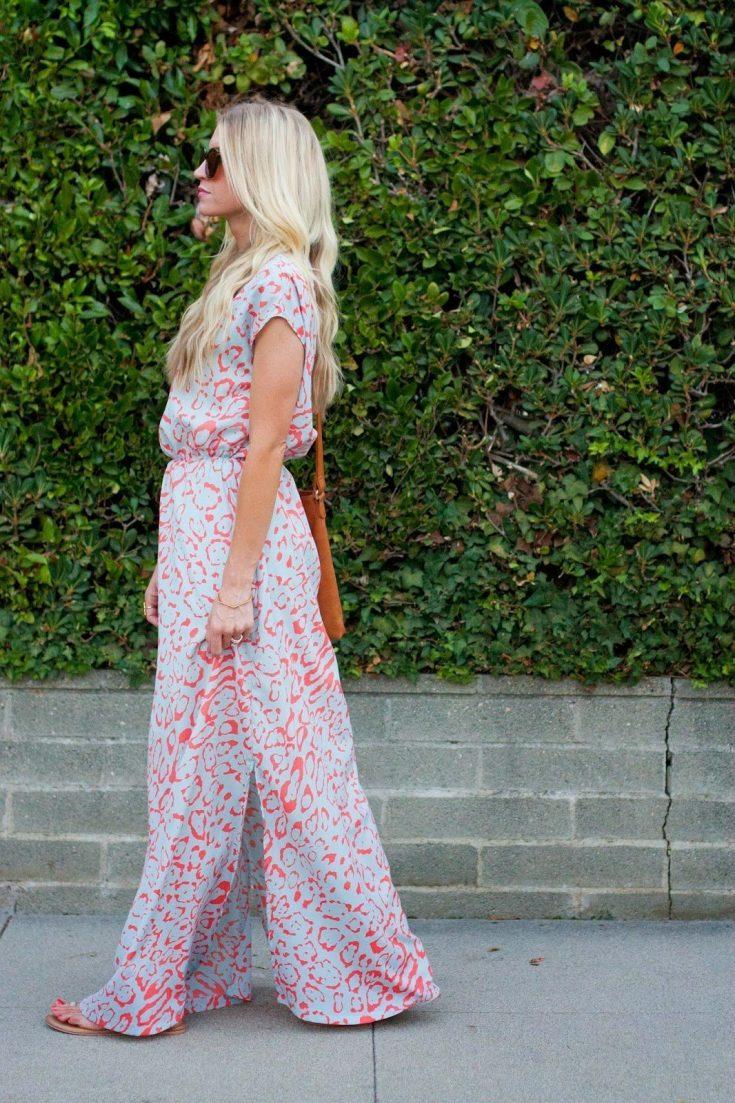 Side Slit Maxi Dress Tutorial