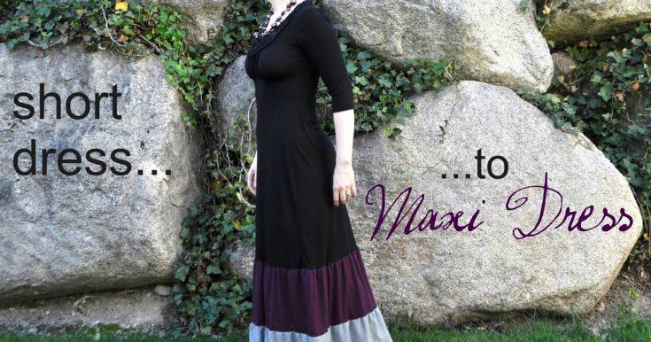 Short Dress to Maxi Dress