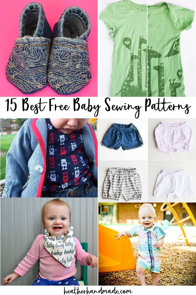 best free baby sewing patterns