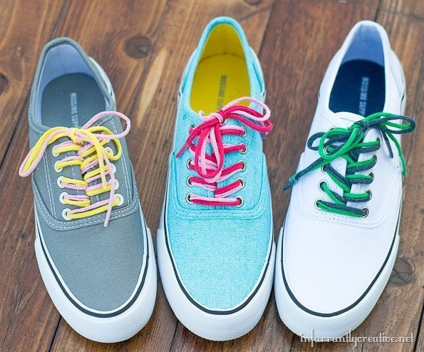 Make Shoelaces out out Tee Shirts