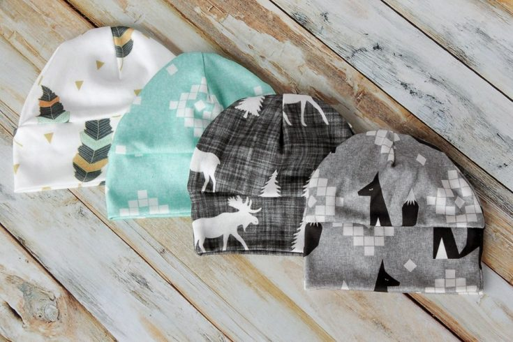 DIY Baby Hat Sewing Pattern and Tutorial