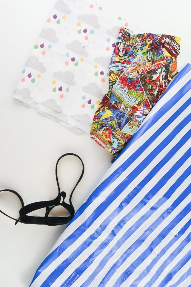supplies for reusable pouches