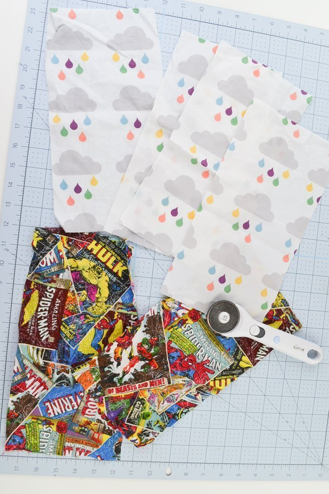 cut out quilting cotton