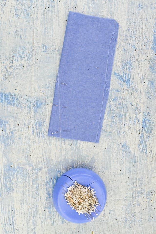 dart in fabric