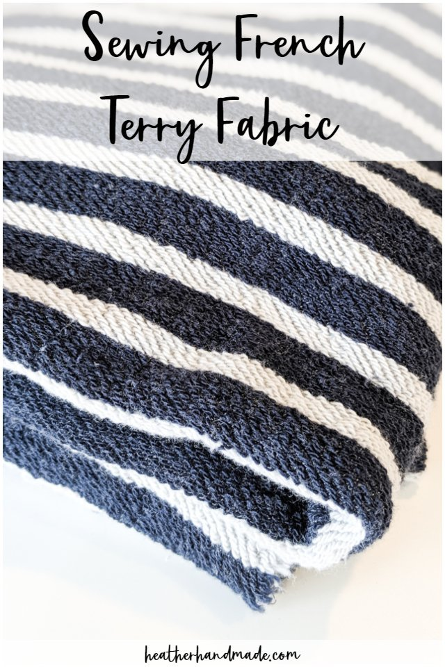 sew french terry fabric