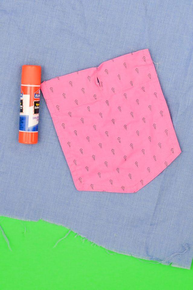 glue stick sewing