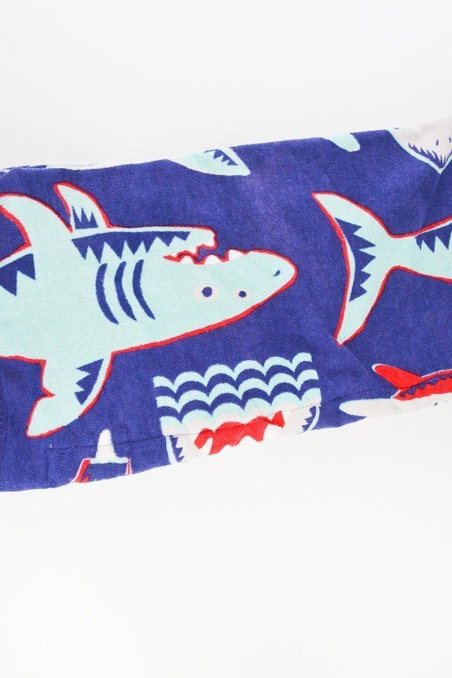 folding a beach towel bag