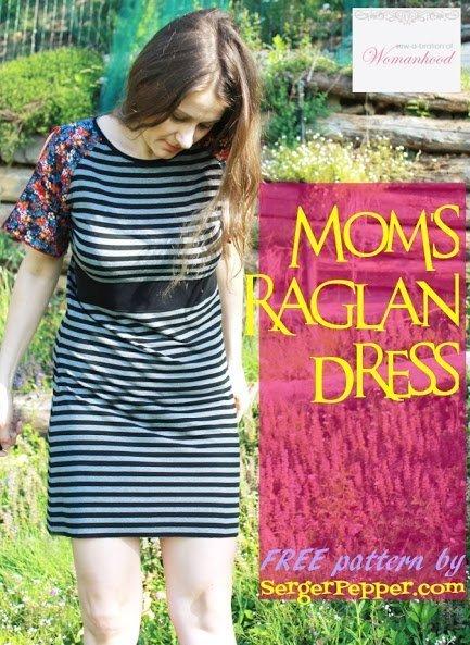 Mom's Raglan Dress FREE Pattern