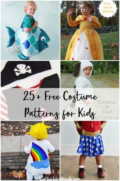 free costume patterns