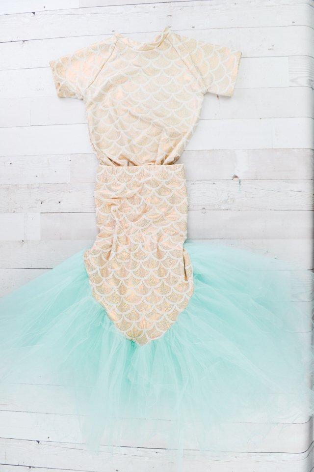 handmade mermaid costume