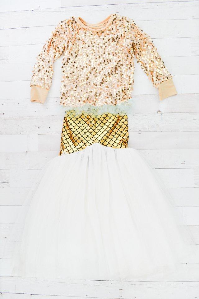 handmade mermaid skirt